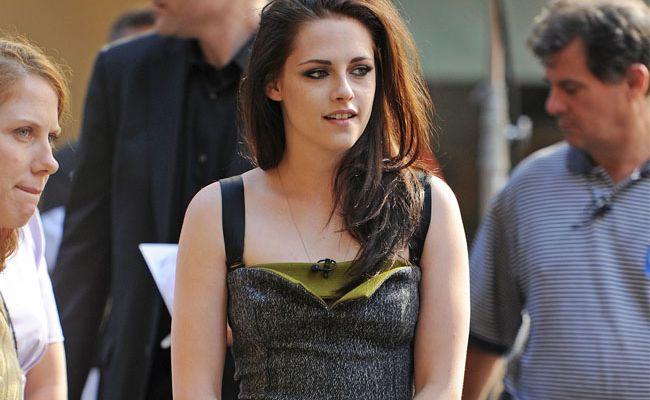 Kristen Stewart is refusing to talk about Robert Pattinson.