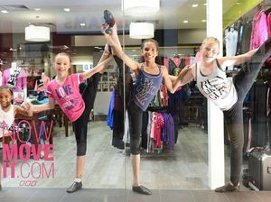 Dancers strike a pose for funds