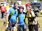 Riders accept pain to beat cancer