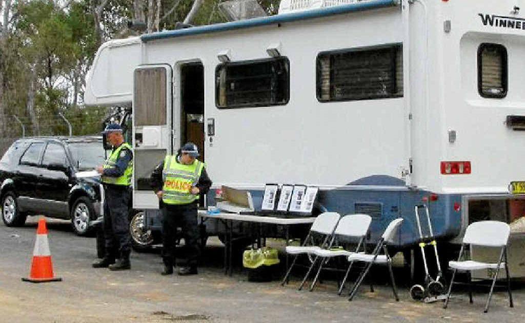 Police plan on having more random drug driving testing units set up in future.