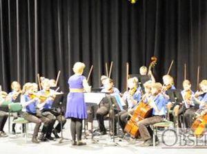 Gladstone Eisteddfod 2012 - string Orchestra