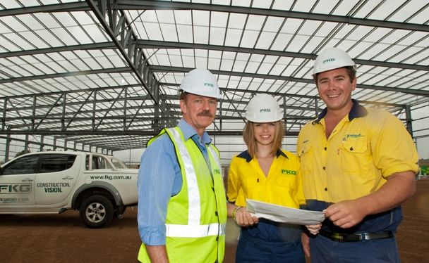 FK Gardner and Sons cadet Alexandra Williams and apprentice Steve Truss each won an award in the Queensland Master Builders Awards.