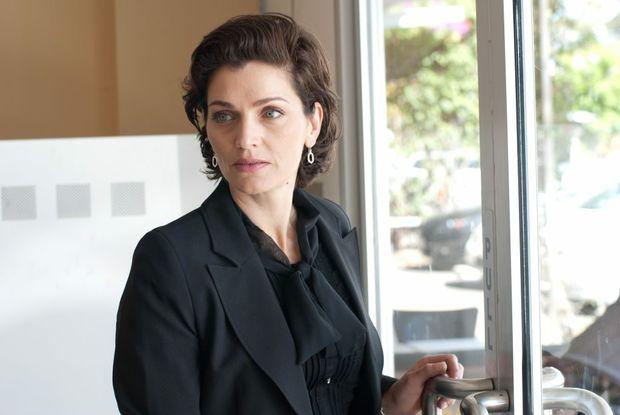 Vanessa Gray in a scene from the movie Bad Karma.