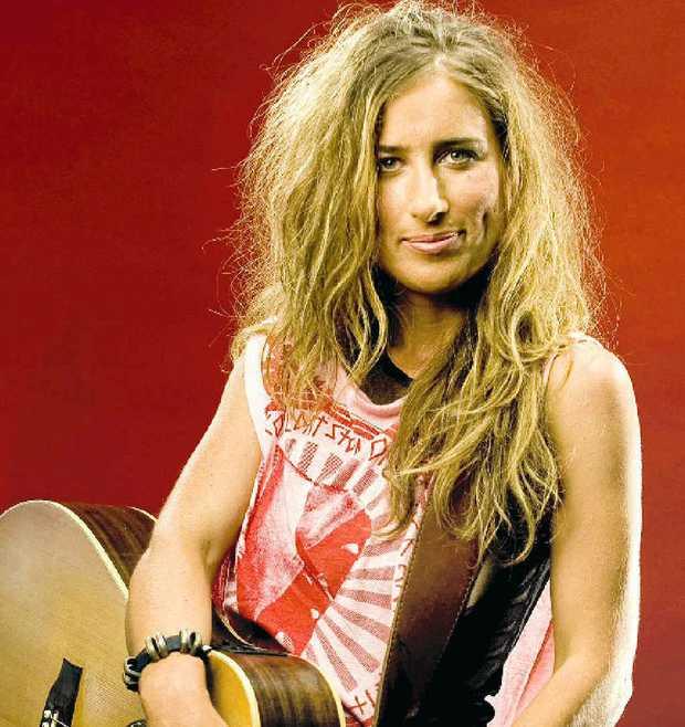 Diana Anaid will rock Nimbin this Friday.