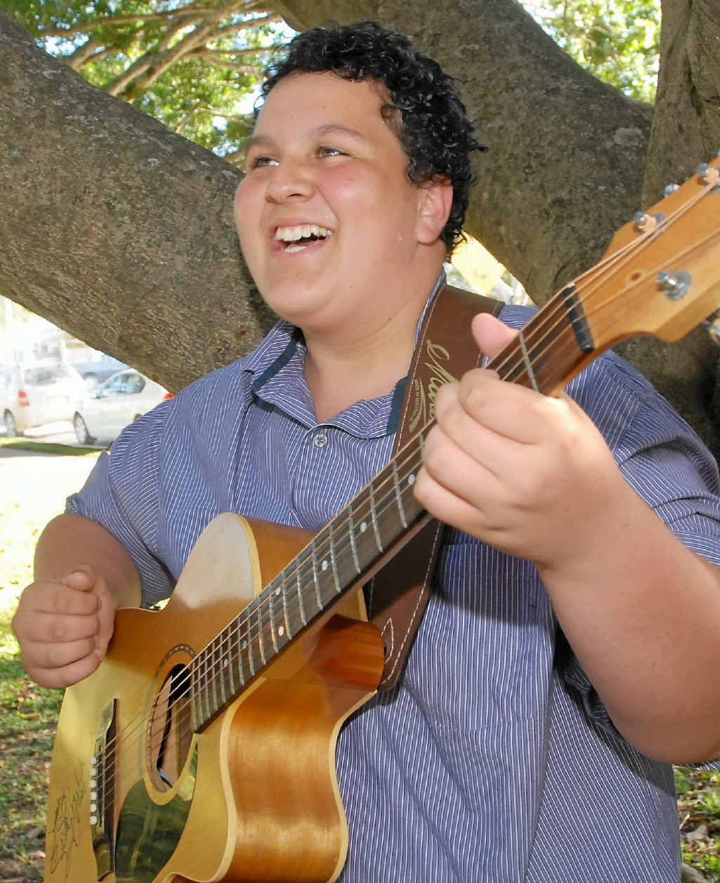 Mackay North State High School student Judah Kelly is carving out a music career for himself. The talented 15-year-old made it through to the X Factor's boot camp in Sydney.