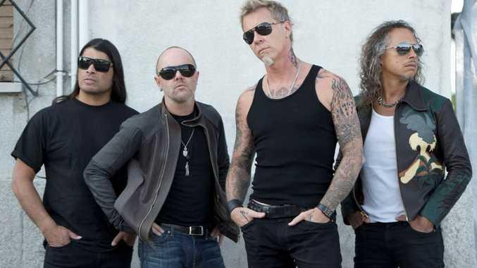 American metal gods Metallica