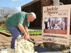 Shearers sharpen up for festival