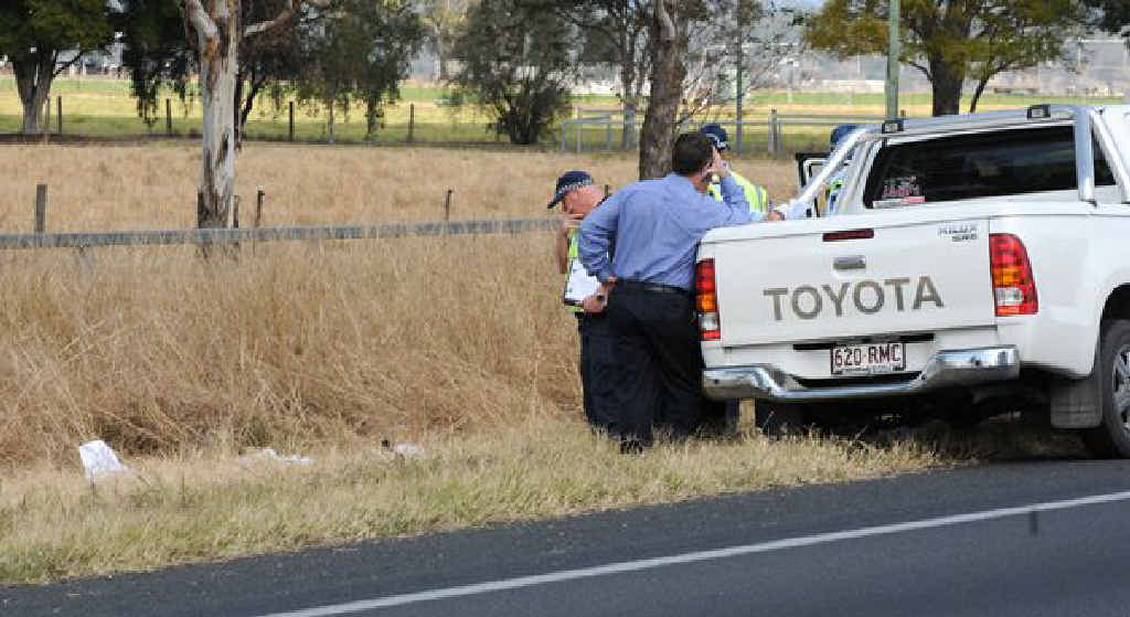 A Chinese backpacker was found dead in a table drain at Gatton. He was the victim of a hit and run.