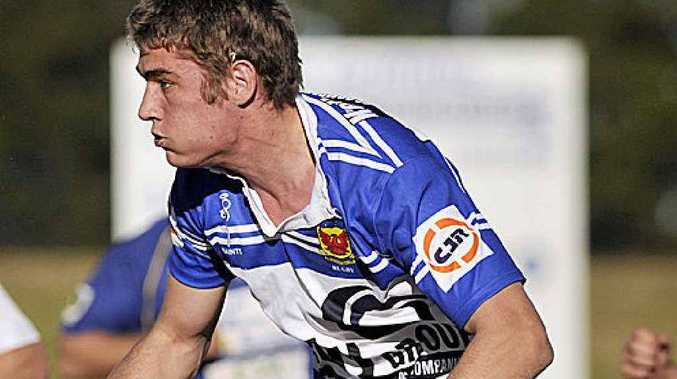 USQ's Andre Van Staden will line up in the back row this afternoon when Saints meet Goondiwindi.