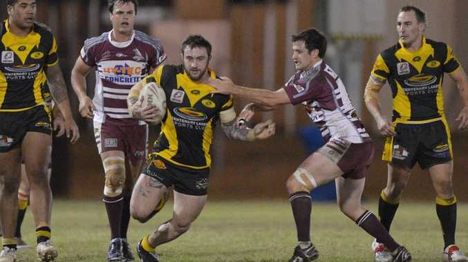 Action from the Rugby League match between Kawana and Caboolture. Photo: John McCutcheon / Sunshine Coast Daily