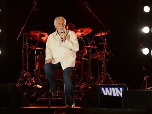 Kenny Rogers at the Gympie Music Muster