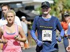 Matt Golinski competes in the 10km run with friends and family in the Sunshine Coast Marathon and Community Run Festival.