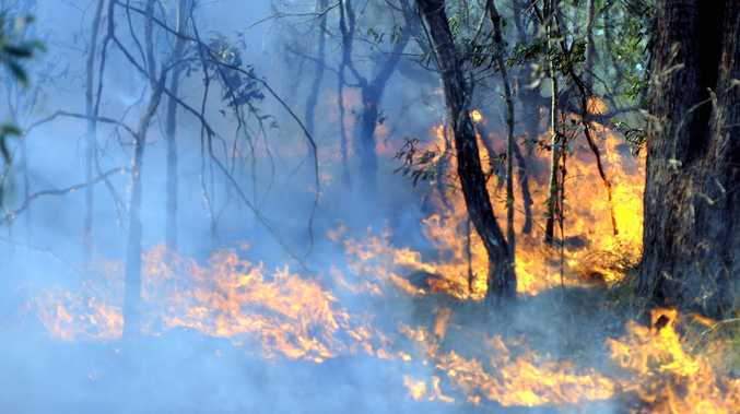 BURN: Fire-fighters are urging residents to be prepared for grassfire season.
