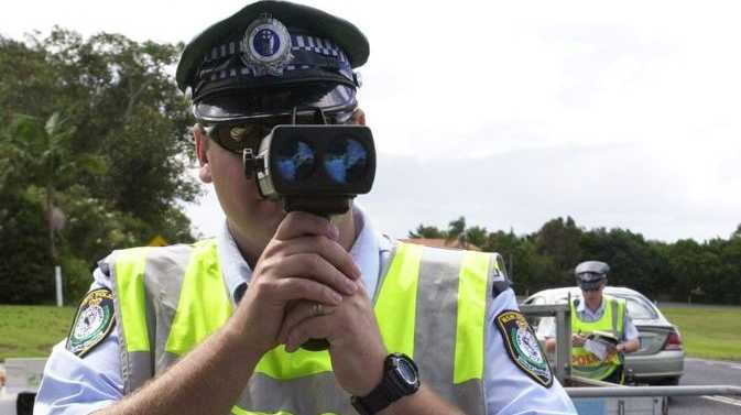 Police charge a 25-year-old speeding motorcyclist under Skye's Law.