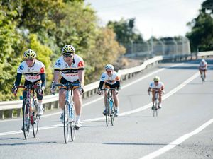 Pedals to metal in charity ride