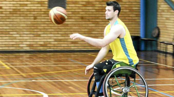 Aussie Glider's wheelchair basketball player Bill Lathem is looking forward to his first Paralympics.