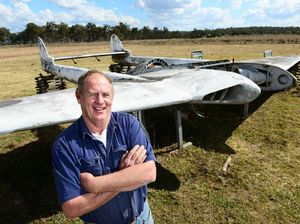 Mates sink teeth into fighter jet