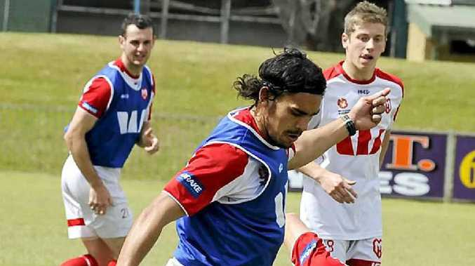 Melbourne Heart training at Oakes Oval, Lismore.
