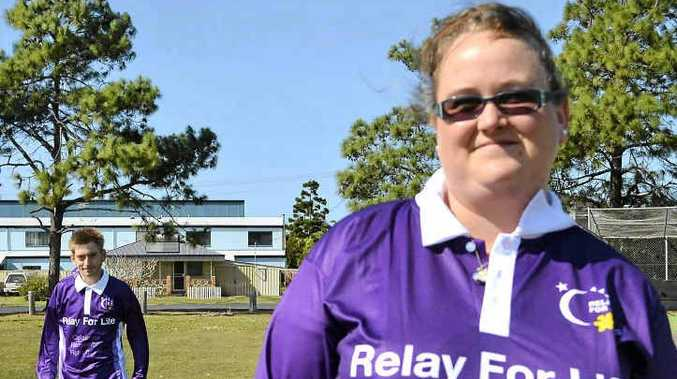 LIFE RELAY: Jeremy Bryant and Adele Maynard are ready for the Ballina Relay for Life but would like more local people to join their team.