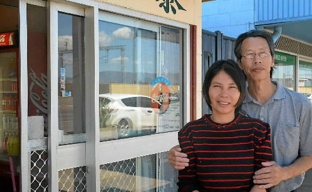Cindy and Charlie Chen thank the community in Blackwater for helping them through a difficult time.