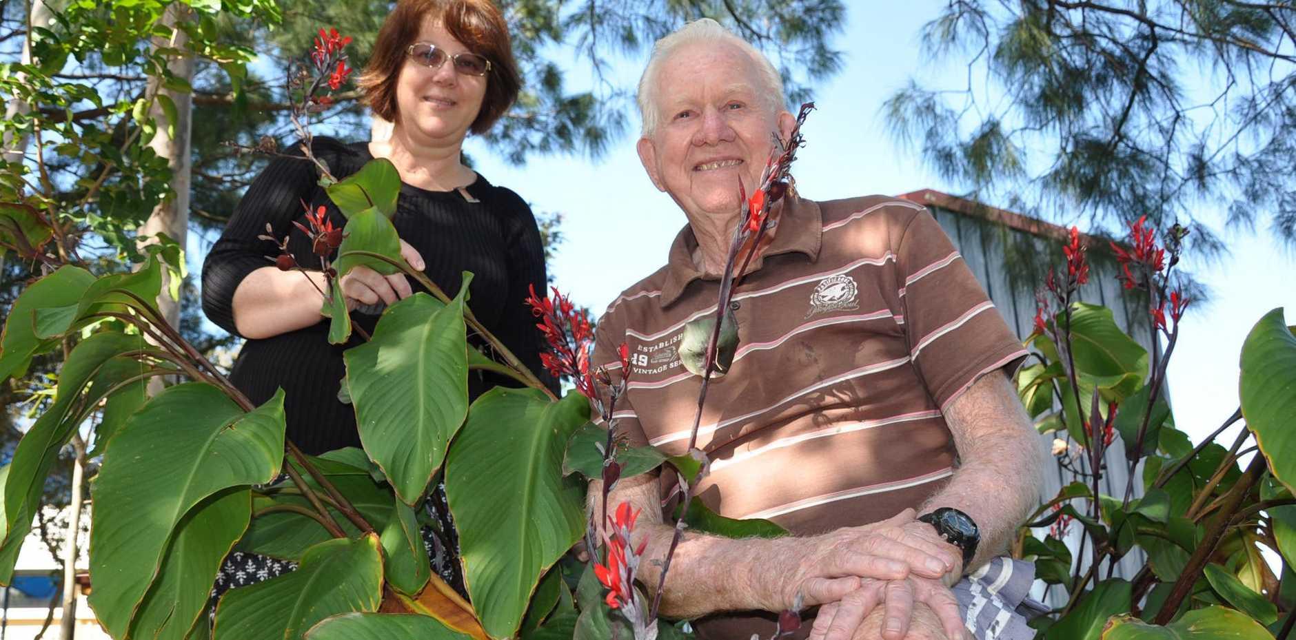 SOLUTION: Environlink coordinator Rhonda Truscott and Landcare president Alby Wooler.