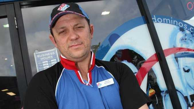 Maroochydore Domino's franchisee Dave Burness will donate $1 from every pizza sold today to the Katrina Day Family Appeal.