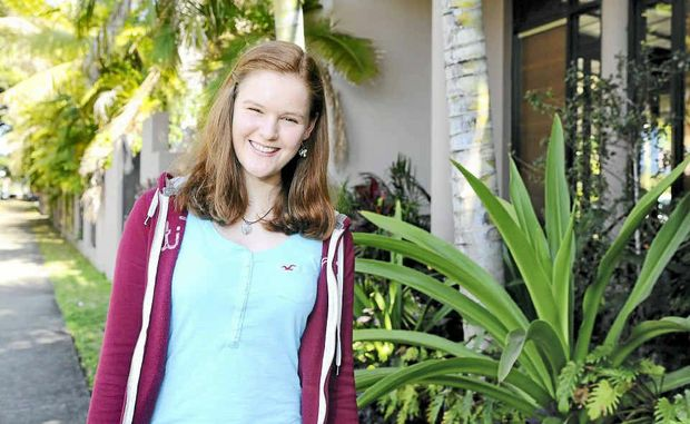Exchange student Kristin Engels has interned at The Daily Examiner during her five months in Australia.