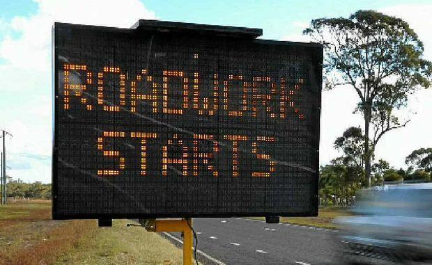 ROAD REPAIRS: Victorian drivers have a few delays ahead.
