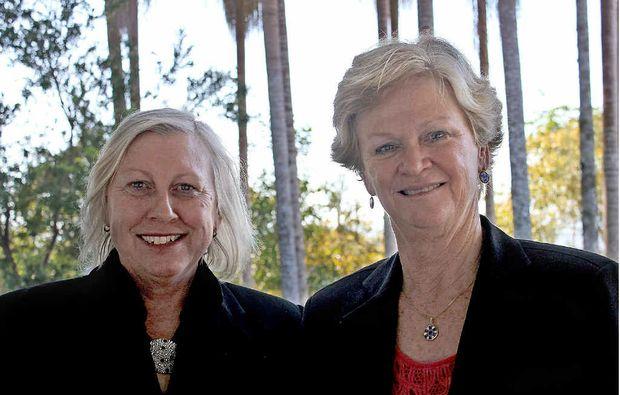 EDUCATION CONSULTATION: Di Williamson and Toni Hughes.