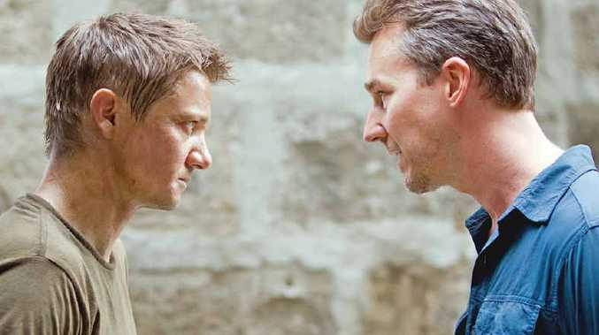 HERE WE GO AGAIN: A scene from The Bourne Legacy and Hope Springs below.