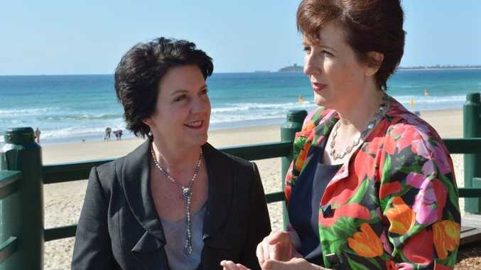 MPs Jann Stuckey and Fiona Simpson are upbeat about the Queensland tourism industry.
