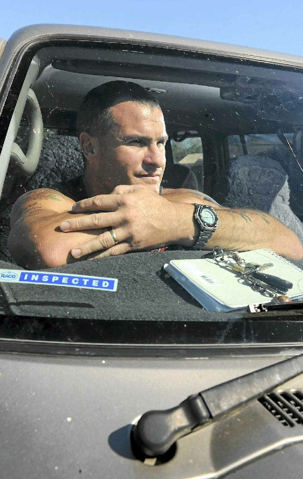 Former Lindsay Transport driver Tyrone Trigg refused to falsify his log book and no longer has a job.