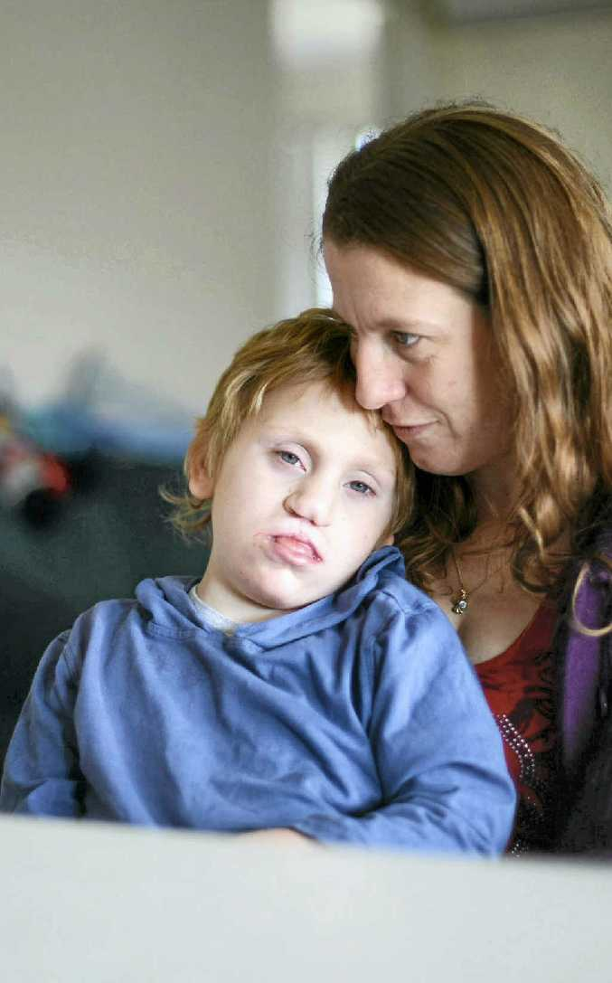 Jessica Lennie's 8-year-old son Conner has a rare chromosomal disorder.