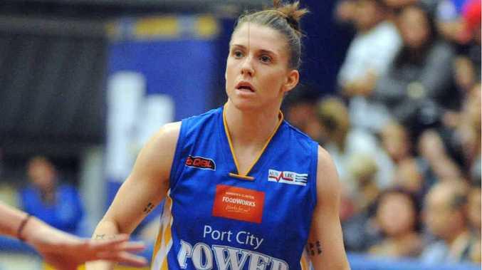 Port City Power player Natalie Hurst.