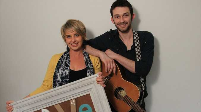 Brother-sister musicians Ange and Anthony Brissett have a personalised songwriting business called Love Note.