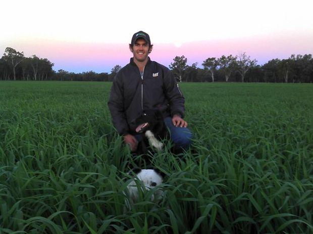 Farmz.com creator and Taroom cattle producer, Alex Sparkes.