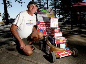 Mower man's trek for charity
