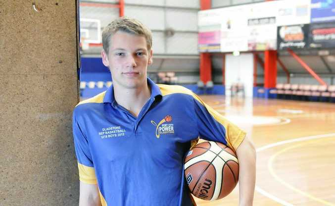 Derek Pascoe is Junior Referee of the season for the Gladstone Junior Basketball Association. Photo Tom Huntley / The Observer
