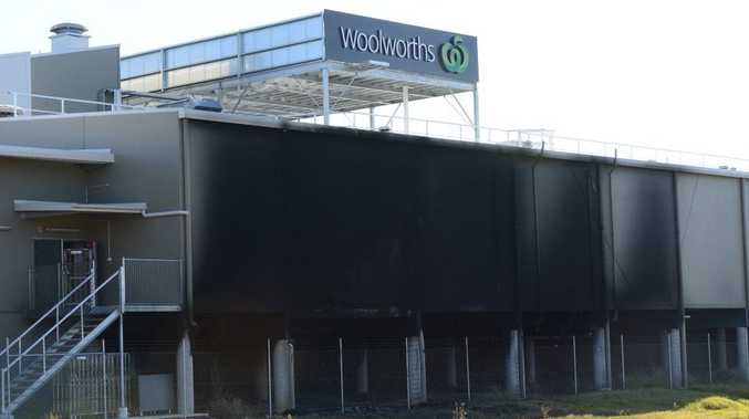 Police are investigating a blaze that caused extensive damage at a new Woolworths supermarket in Gympie.