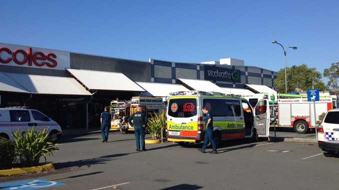 WOOLWORTHS Pelican Waters has been evacuated following reports of a gas leak.