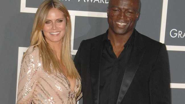Seal and Heidi Klum in happier times.