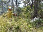 Burnoff reduces fire risk