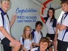 Rheed boosts Bundy High morale