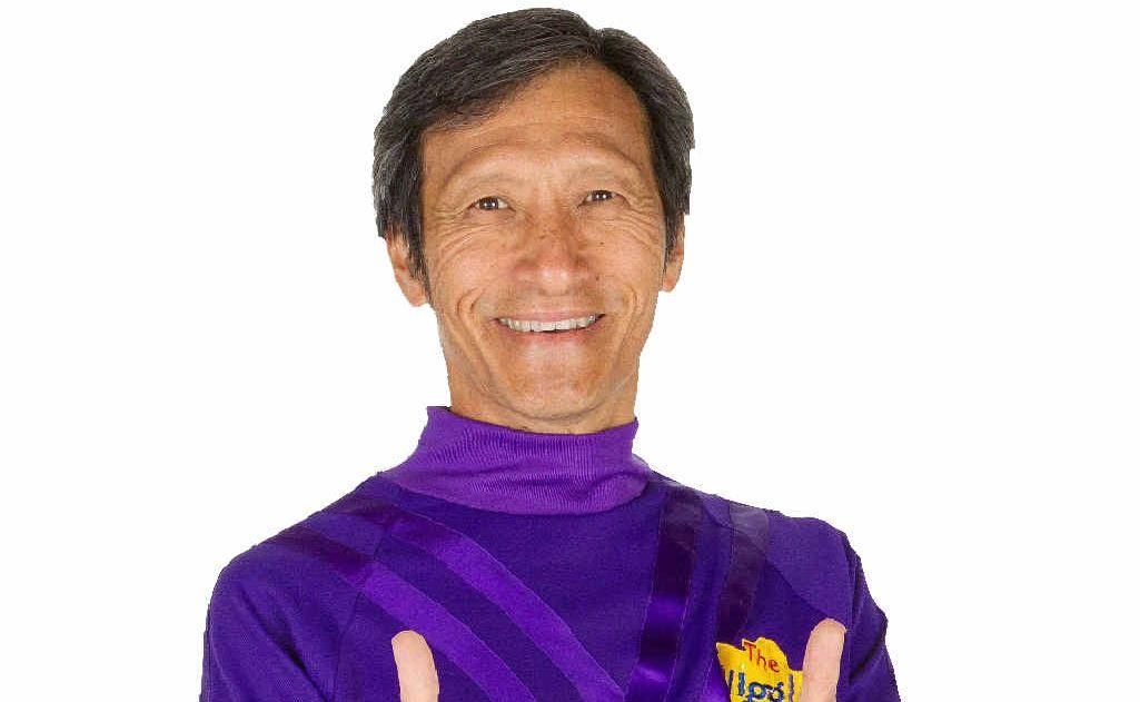 Purple Wiggle Jeff Fatt