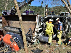 Crash victim recovering in hospital