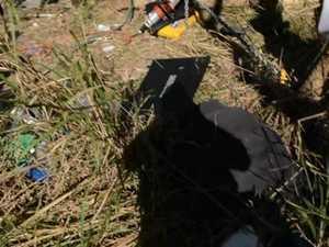 Truck accident at Mt Pelion
