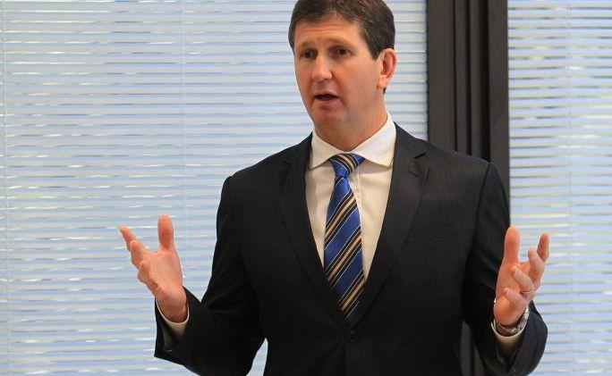 Minister for Health Lawrence Springborg