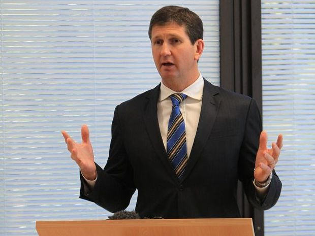 Minister for Health Lawrence Springborg