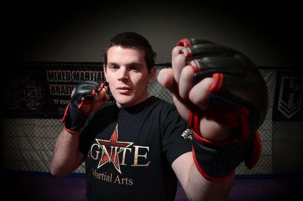 Mixed martial artist Grant Blackler.