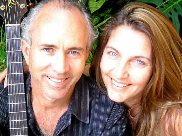 Leigh James and Elizabeth Lord sing the songs of James Taylor and Carole King this Friday.